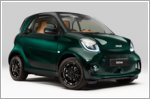 Smart reveals Brabus fortwo coupe Racing Green Edition