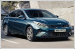 Kia unveils the new Cerato along with new brand logo