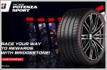 Bridgestone sends you racing with the new Potenza Sport tyres