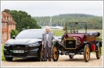 Ford puts a 101-year old in a Mustang Mach-E
