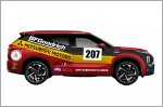 Mitsubishi Outlander to compete in Rebelle Rally