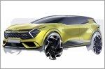 Kia reveals first sketches of the all new European market Sportage