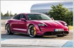 Porsche's latest update to the Taycan means you can now get yours in Rubystar Red