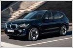 The BMW iX3 makes its film debut