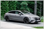Mercedes-Benz unveils the EQE electric saloon