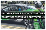 MOM to look into strengthening protections for delivery riders, PHV and taxi drivers