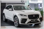 Refreshed Jaguar F-PACE SVR and Jaguar XF now in Singapore