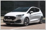 Ford unveils the facelifted Fiesta supermini