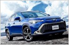 Toyota reveals its Japan market Corolla Cross