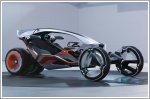 SAIC R Ryzr concept merges bike, car and streetwear all into one
