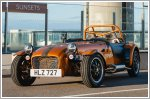 Caterham opens world's highest car pop-up store for the launch of the Seven 170