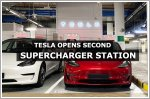Tesla opens second Supercharging station at Millenia Walk