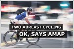 AMAP recommends cyclists be allowed to ride two abreast