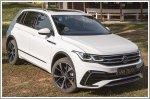 The new Volkswagen Tiguan debuted off-road on the rough terrain at Sarimbun Camp in Singapore