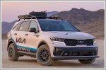 Kia reveals its pair of Rebelle Rally Sorentos