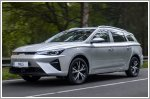 MG updates the MG5 EV stationwagon for Europe