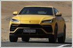 Lamborghini Urus traveses the Umling La Pass 5,880m above sea level