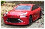 Toyota builds a miniature hydrogen-powered Mirai