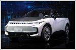 Foxconn aims to break into electric car market with two new concepts