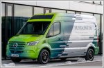 The Mercedes-Benz Sustaineer is part van part sustainable technology showcase
