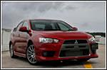 Car Review - Mitsubishi Lancer Evolution X