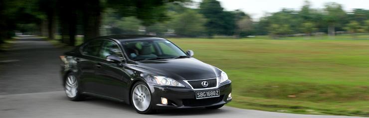 Car Review - 2009 Lexus IS250 Luxury