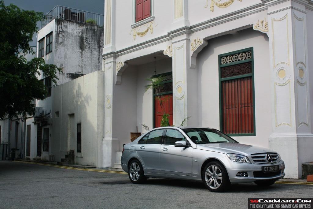Car Review - Mercedes-Benz C180 CGI BlueEFFICIENCY (A)