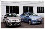 Mazda vs. Toyota - Facelifted sedans head to head