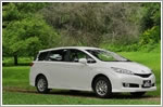 Car Review - Toyota Wish 1.8 CVT (A)