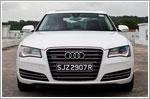 Car Review - Audi A8 3.0 TFSI quattro Tip LWB (A)
