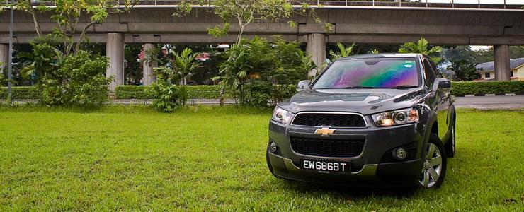 Car Review Chevrolet Captiva 2 4 Lt A