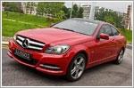 Car Review - Mercedes-Benz C-Class Coupe C250 BlueEfficiency (A)