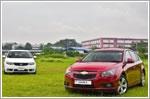 Comparison - Kia Forte Hatchback 1.6 SX (A) & Chevrolet Cruze 5 Sportback 1.6 LS
