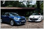 Comparison - Peugeot RCZ 1.6 Turbo (A) & MINI Cooper S Coupe 1.6 (A)