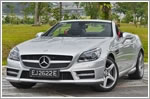 Car Review - Mercedes-Benz SLK Class SLK350 BlueEfficiency (A)