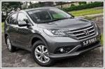 Car Review - Honda CR-V 2.4 Sunroof (A)
