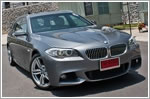 First Drive - BMW 5 Series Touring 520i (A)