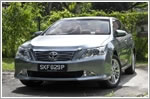 Car Review - Toyota Camry 2012 2.5 (A)