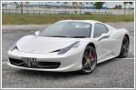 Car Review - Ferrari 458 Spider 4.5 (A)