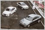 Comparison - BMW 316i Sport (A) & Mercedes-Benz C180 1.6 (A) & Volvo S60 T4 (A)