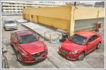Comparison - Mazda6 2.5 R (A) & Suzuki Kizashi 2.4 (A) & Toyota Camry 2.0 (A)