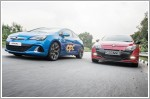 Comparison - Renault Megane RS 2.0T 250 (M) & Opel Astra OPC 2.0 Turbo (M)