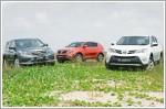 Comparison - Honda CR-V 2.0 (A) & Kia Sportage 2.0 SX (A) & Toyota RAV4 2.0 (A)