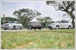 Comparison - Toyota Vios 1.5 G (A) & Nissan Almera 1.5 Premium (A) & Honda City 1.5 (A)