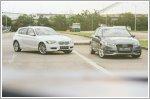 Comparison - Audi A3 Sportback 1.4 TFSI S-tronic (A) & BMW 1 Series Hatchback 116i (A)