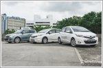 Comparison - Nissan Note 1.2 DIG-S (A) & Suzuki Swift 1.4 (A) & Toyota Yaris 1.33 (A)