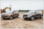 Comparison - Ford Kuga 1.6 Titanium (A) & Kia Sportage 2.0 (A)