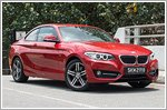 Car Review - BMW 2 Series Coupe 220i Sport (A)