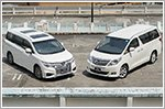 Japanese minivans battle it out