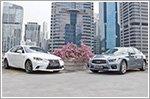 Comparison - Infiniti Q50 2.0T Sport (A) & Lexus IS250 2.5 F Sport (A)